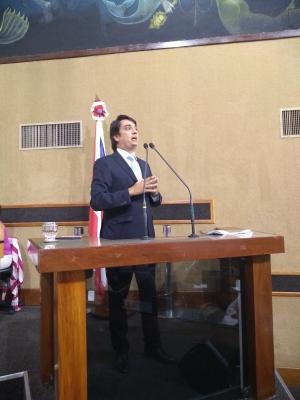 Pedro Tavares pede ao Governo providências contra a violência em Barra